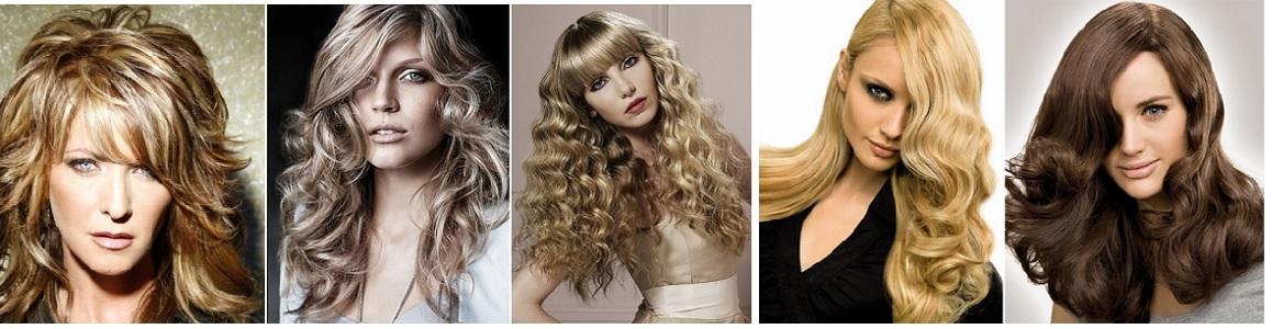 Модные кладки на длинные волосы